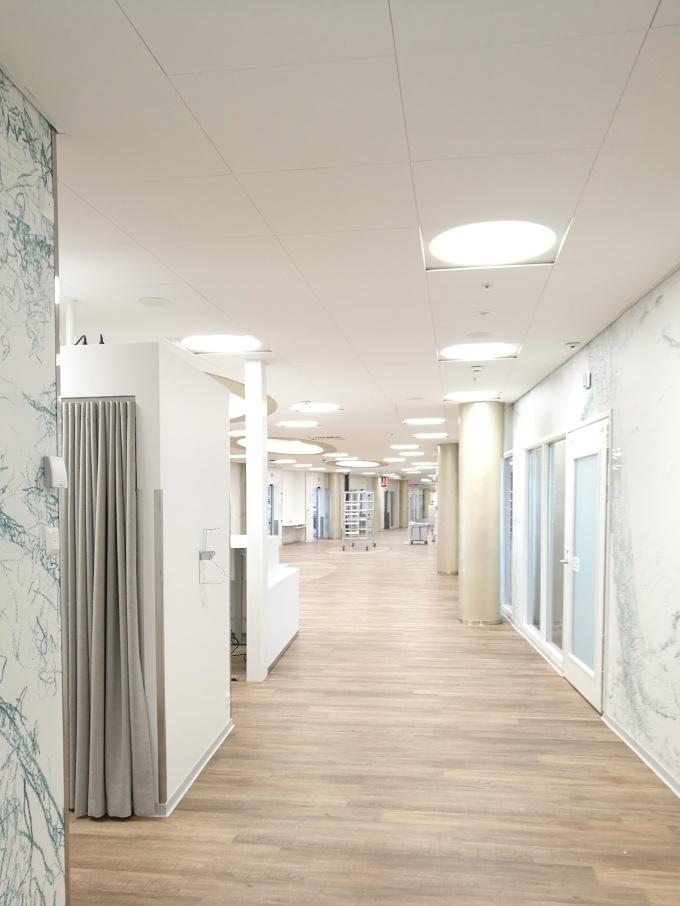 K-sairaalan sairaalahygieniaa edistävistä suunnitteluratkaisuista artikkeliEtelä-Saimaassa