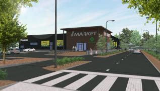 Joutsenoon rakenteilla uusi myymälä S-marketille, myymälän yhteyteen liiketila myösapteekille