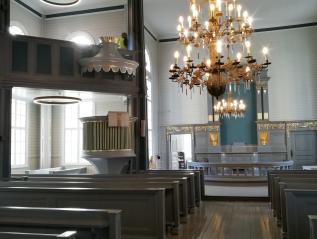 Taipalsaaren kirkon sisäpuoliset korjaustyöt valmiit – avoimien ovien päivä12.7.